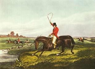 The English Hunt VIII Digital Print by Henry, Alken,Impressionism