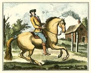 Equestrian Training I Digital Print by Diderot, Denis,Impressionism