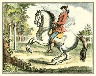 Equestrian Training II Digital Print by Diderot, Denis,Impressionism