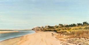 The Sound Shoreline I Digital Print by Dianne Miller,Impressionism