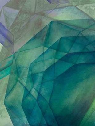 Gemstones II Digital Print by Popp, Grace,Geometrical