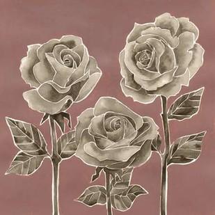 Marsala Roses I Digital Print by Popp, Grace,Decorative