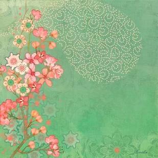 Tokyo Cherry III Digital Print by Evelia Designs,Decorative