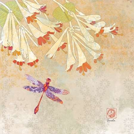 Dragonfly Lustre Ii By Evelia Designs