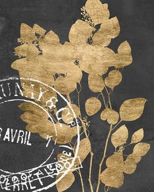 Postage Leaves III Digital Print by Goldberger, Jennifer,Decorative, Image