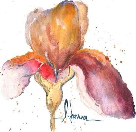 Blooms Hermanas III Digital Print by Herrera, Leticia,Decorative
