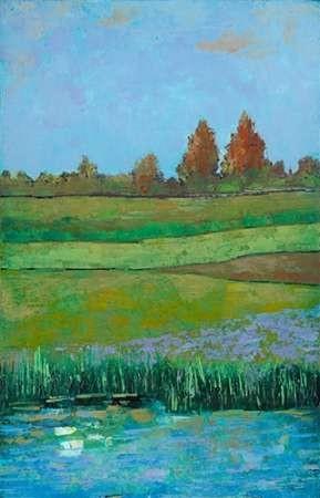 Impressionist Meadow II Digital Print by Altug, Mehmet,Impressionism