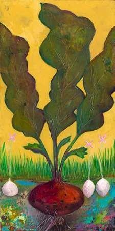 Veggie Garden I Digital Print by Altug, Mehmet,Impressionism