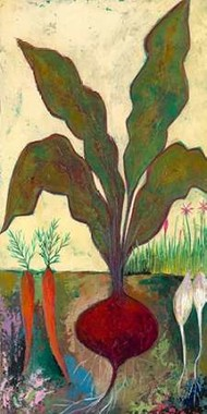 Veggie Garden II Digital Print by Altug, Mehmet,Impressionism