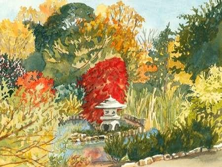Plein Air Garden III Digital Print by Miller, Dianne,Impressionism