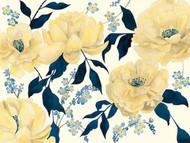 Fleurs D'or et Bleu II Digital Print by Popp, Grace,Impressionism