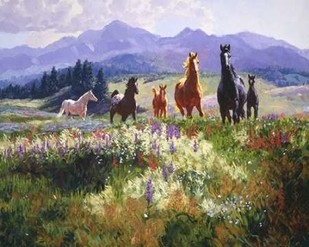 Wildflower Allure Digital Print by Goldrick, Claire,Impressionism