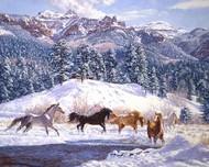 Winter Enchantment Digital Print by Goldrick, Claire,Impressionism