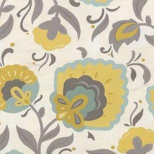 Bohemian Garden II Digital Print by Vess, June Erica,Decorative