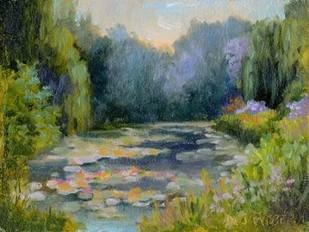 Monets Garden I Digital Print by Weber, Mary Jean,Impressionism