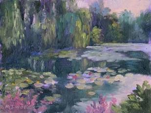 Monets Garden II Digital Print by Weber, Mary Jean,Impressionism