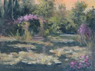 Monets Garden IV Digital Print by Weber, Mary Jean,Impressionism