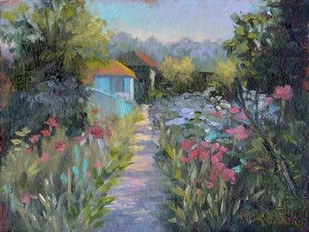 Monets Garden V Digital Print by Weber, Mary Jean,Impressionism