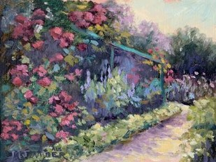 Monets Garden VI Digital Print by Weber, Mary Jean,Impressionism