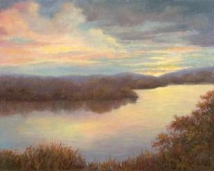 Mississippi Glow Digital Print by Weber, Mary Jean,Impressionism