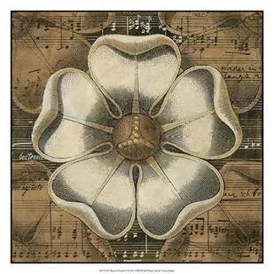 Rosette Detail VI Digital Print by Vision Studio,Decorative