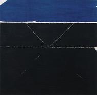 Prakriti by S H Raza, Geometrical Serigraph, Serigraph on Paper, Black color