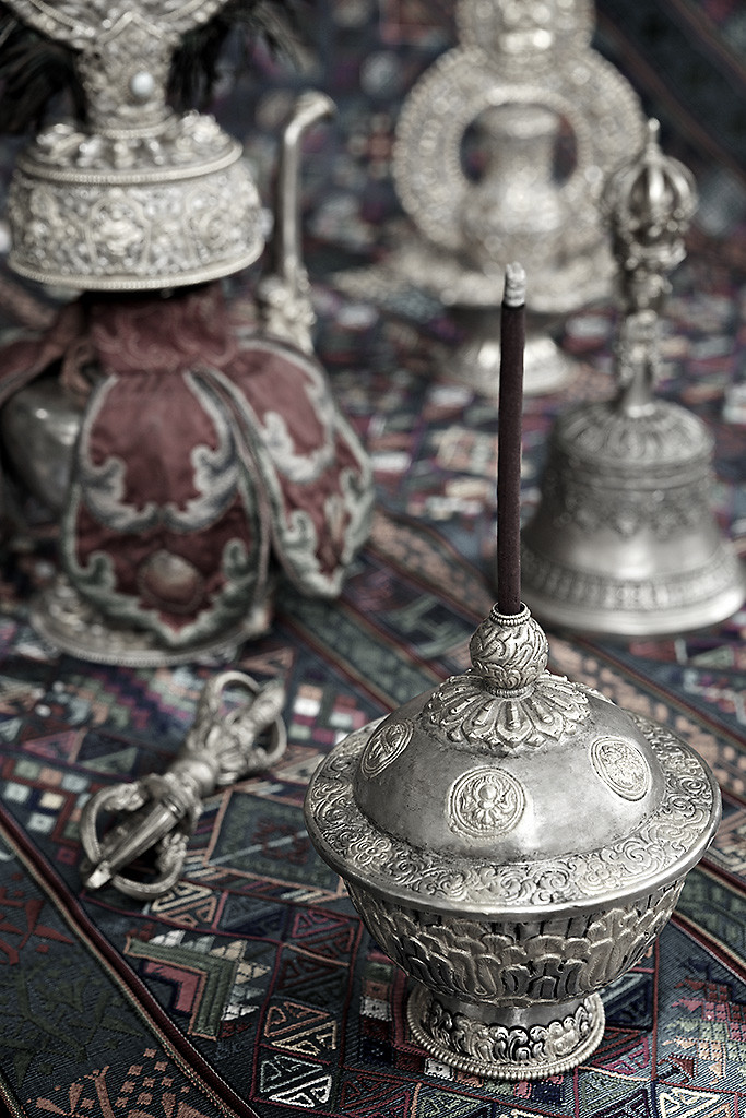 Part of the Ritual 1 by Sanjay Nanda, Image Photograph, Digital Print on Canvas, Gray color