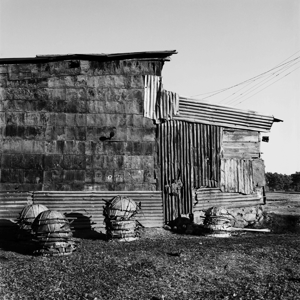 Outpost: Untitled 7 by Samar Singh Jodha, Image Photograph, Digital Print on Archival Paper, Gray color