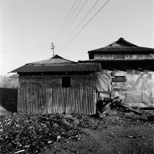 Outpost: Untitled 15 by Samar Singh Jodha, Image Photograph, Digital Print on Archival Paper, Gray color