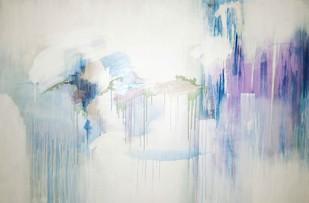 Light 4 by Tarini Ahuja, Abstract Painting, Acrylic on Canvas, Gray color