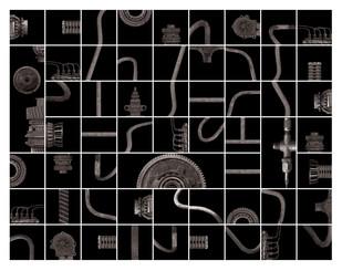 Untitled by Mukesh Jwala, Digital Digital Art, Digital Print on Archival Paper, Gray color