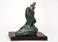 Mother and Child by Manjari Goenka, Art Deco Sculpture | 3D, Bronze, White color