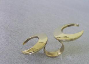 Chandrakala Ring By Chicory Chai