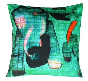 Deepak Shinde Cushion cover 2 Cushion Cover By indian-colours