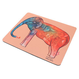 Elephant series Babu Xavier Mousepad Mousepad By indian-colours