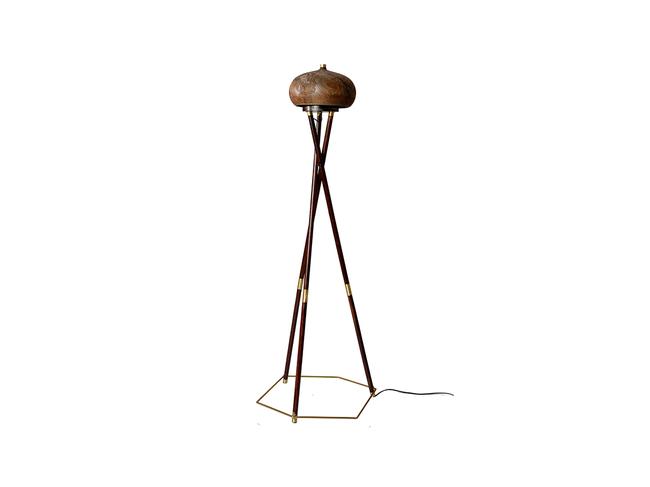 Chappa & Chippa Table lamp Artifact By Arpan Patel for Studio Kassa