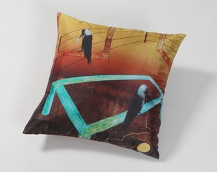 Anjolie Ela Menon Cushion Cushion Cover By Vadehra Bookstore