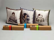 Anju Dodiya Cushion (Set of 3) Cushion Cover By Vadehra Bookstore