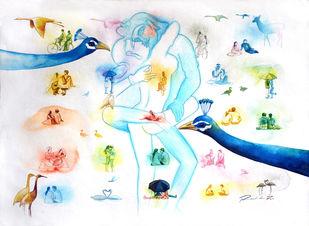 Love Dont Change 3 Digital Print by rawindra kumar das,Fantasy