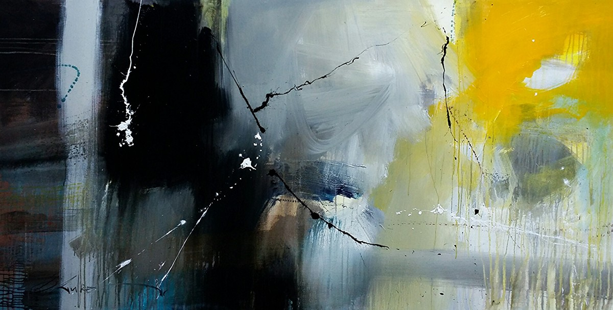 Dream beyond dreams by Gulrez Ali, Abstract Painting, Acrylic on Canvas, Green color