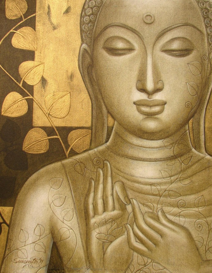 Buddha By Sukanta Das