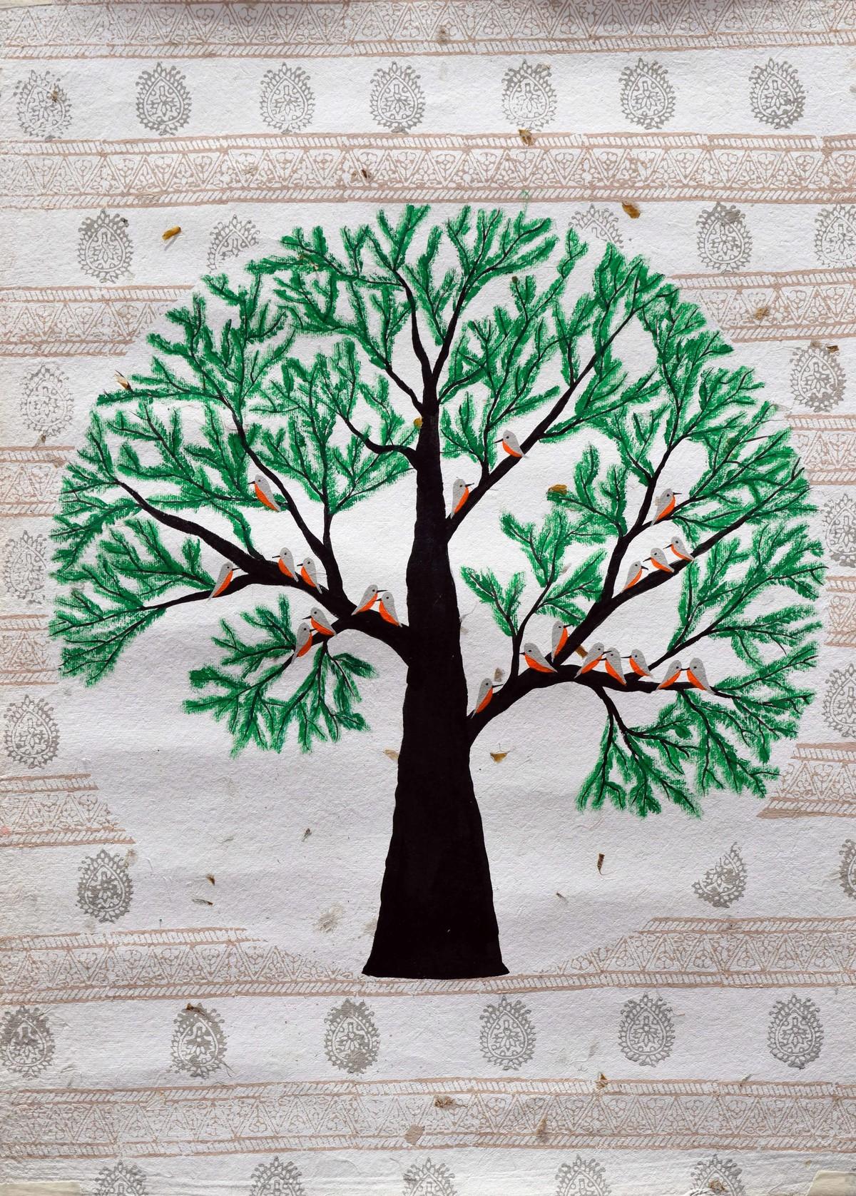 Ataravar Digital Print by Sumit Mehndiratta,Decorative