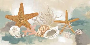 Marine Tableau I Digital Print by Vess, June Erica,Decorative