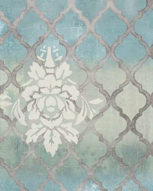 Teal & Arabesque II Digital Print by Studio W,Decorative