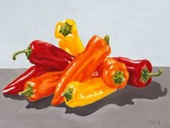 Pepper Collection I Digital Print by Miller, Dianne,Realism