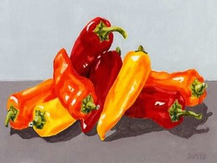 Pepper Collection II Digital Print by Miller, Dianne,Realism