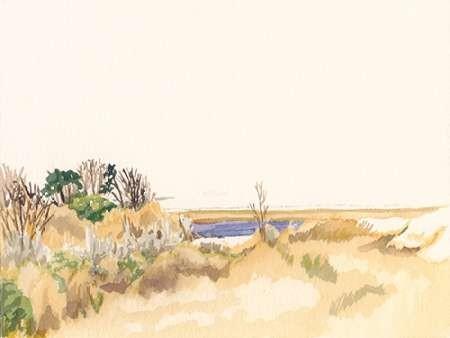 Minimalist Coastline III Digital Print by Miller, Dianne,Minimalism