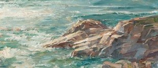 Impasto Ocean View IV Digital Print by Harper, Ethan,Realism