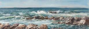 Impasto Ocean View V Digital Print by Harper, Ethan,Realism
