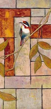 Textured Bird Panel II Digital Print by Altug, Mehmet,Decorative